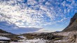 Wolkenformationen auf den Lofoten