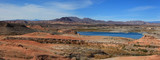 Panoramic view of Lake Mead