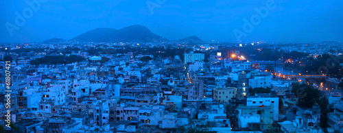 Vijayawada in night time