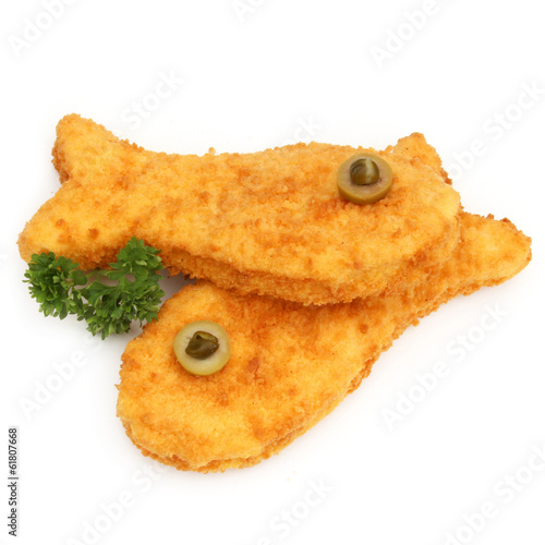 Poisson pané - Breaded fish