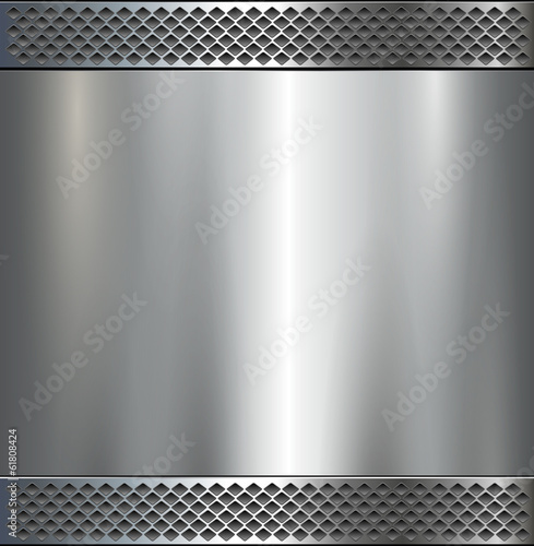 Background , polished metal texture