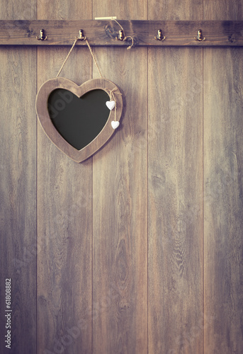 Heart Menu Board
