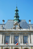 Levallois-Perret city hall (92), France