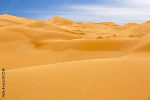 canvas print picture Erg Chebbi Wüste, Marokko