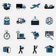 Logistic Icons Set - 61812465