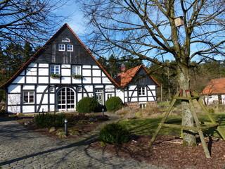 Saniertes Bauernhaus mit Nebengebäude in Lippereihe