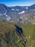 Trou de Fer with Salazie in the back, La Réunion