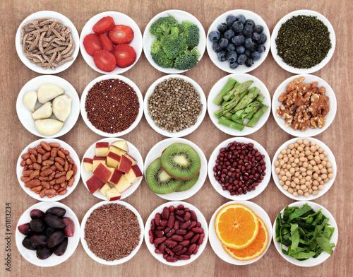 Fotobehang Assortiment Health Food