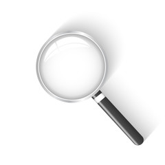 Magnifying Glass, Vector Illustration