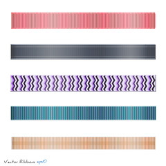 Ribbons, Vector Illustration