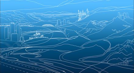 02_Geo_lines_Background