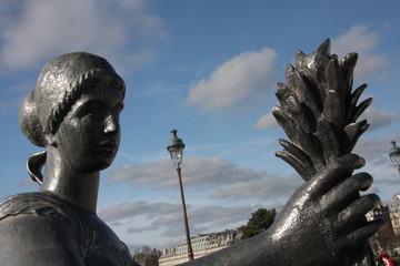 Statue de Maillol à Paris