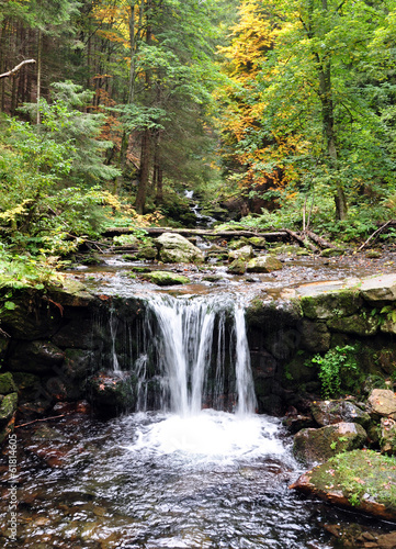 mountain streams, mountains Jeseniky, Czech Republic, Europe