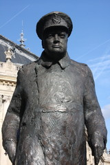 Statue de Winston Churchill à Paris