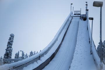 Small ski jumping hill