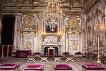 Interni del castello di Fontainebleau