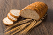 sliced ​​bread with cereals