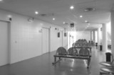 Waiting area and surgery rooms at hospital center