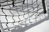 Monkey bars shadow