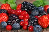 Fototapeta Owoce jagodowe
