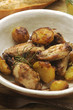 Pollo e patate Chicken and potatoes الدجاج والبطاطا