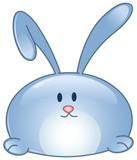 Bunny cartoon icon