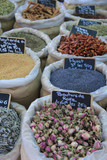 Herbs and spices at a French market