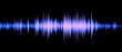 Leinwandbild Motiv waveform