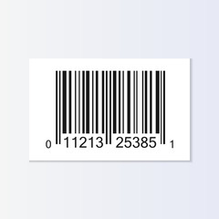 Bar code tag illustration