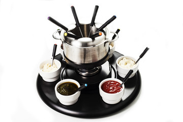 fondue or bourguignonne
