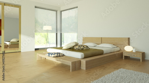 3D Appartment Szene