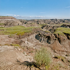 Square Landscape of the Badlands