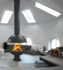 Fireplace Design (focus)