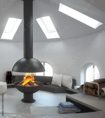 Fireplace Design (focus)