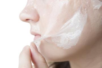 Exfoliation skin