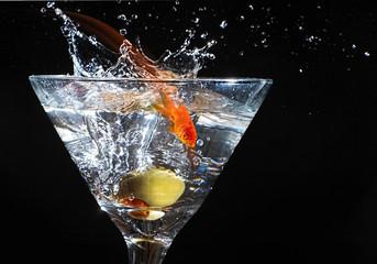 Goldfish Martini.