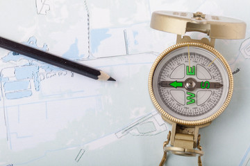 compass showing the right direction