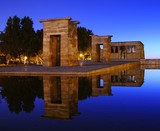 Temple de Debod en Madrid.