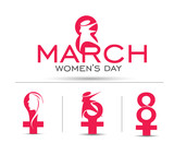 Woman's Day Icon Set