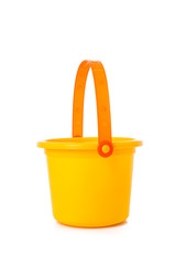 Beach Toy Sand bucket isolated