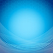 Abstract blue background template with waves