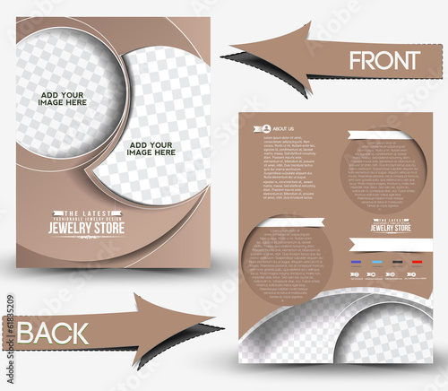 Vector Jewelry Store Flyer & Poster Template