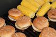 burger et maïs