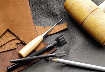 Leathercraft equipment