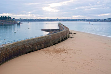 France, Saint-Malo - La grande digue
