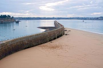 France, Saint-Malo - La grande digue