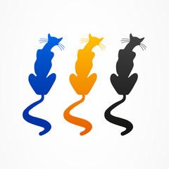 logo business cat