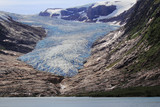 Engenbreen Glacier and lake