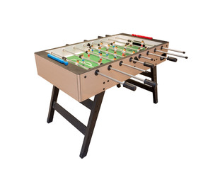 Tabletop football game. For entertainment sports.