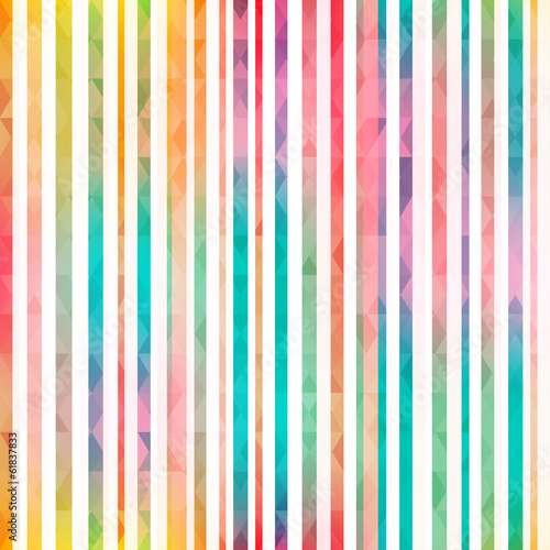 Materiał do szycia rainbow stripes seamless pattern